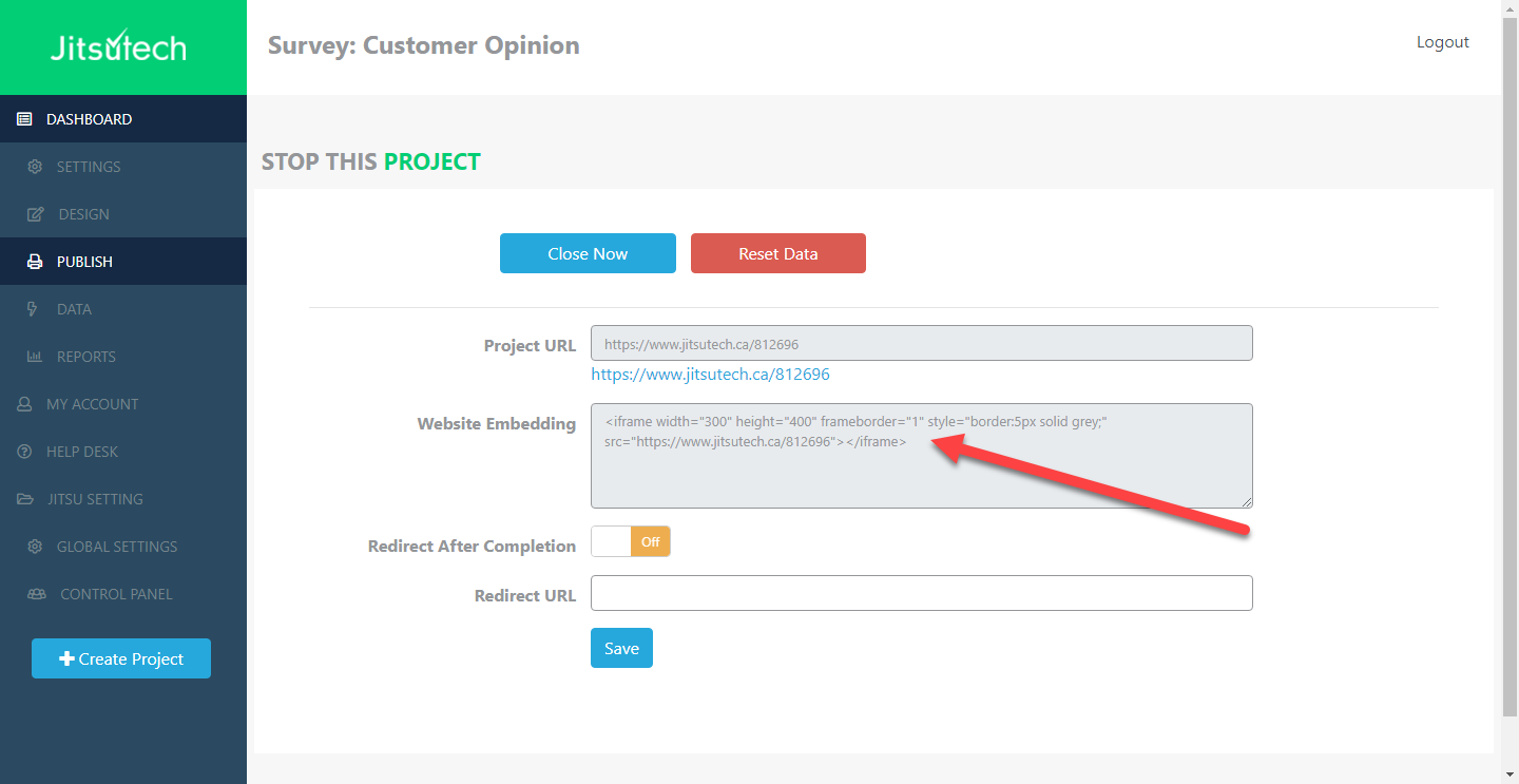 How to Embed a Survey, Form or Poll into a Website