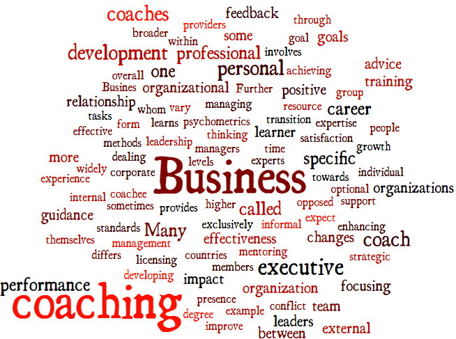 Business Coaching – it Really can make a Difference!