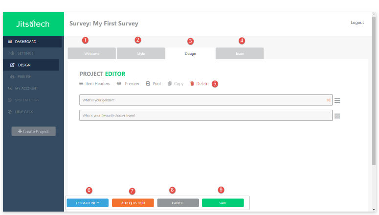 Measuring Customer Experience with Online Surveys
